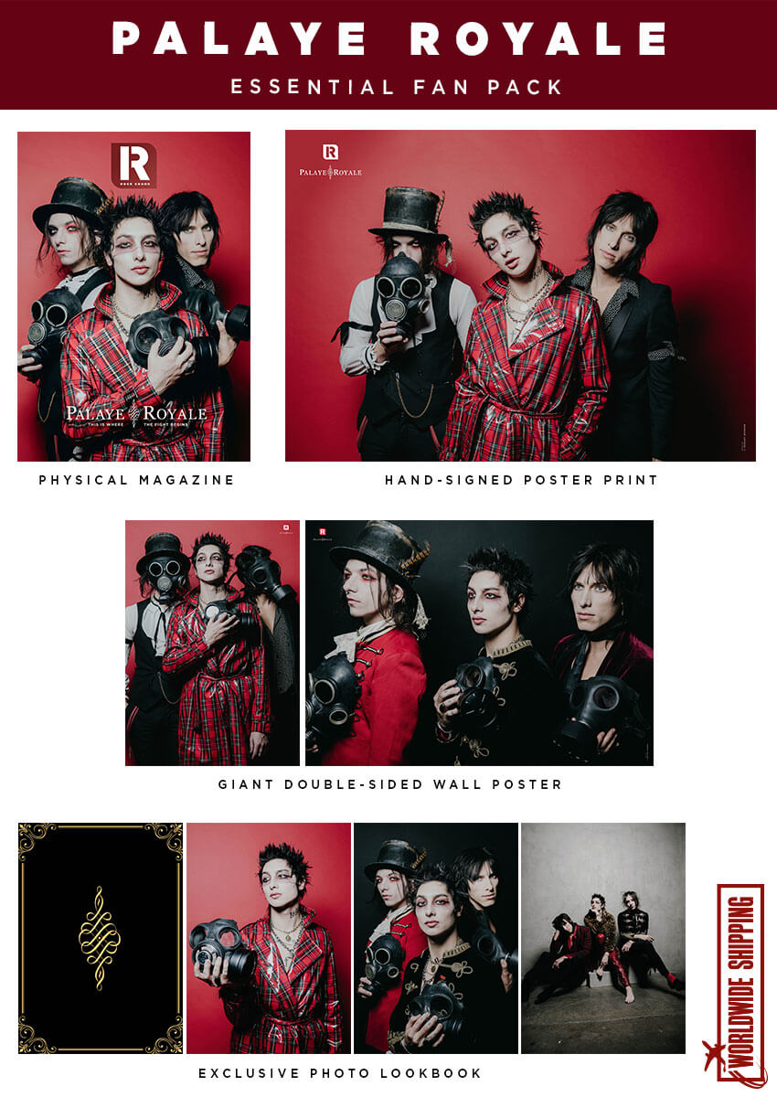 Rock Sound Issue 259.3 - Palaye Royale Essential Fan Pack
