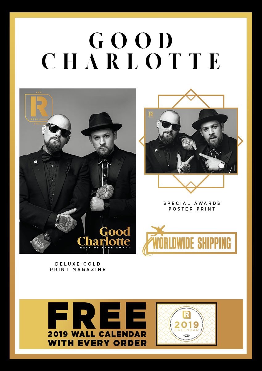 Rock Sound Awards 247.9 - Good Charlotte - Rock Sound Shop
