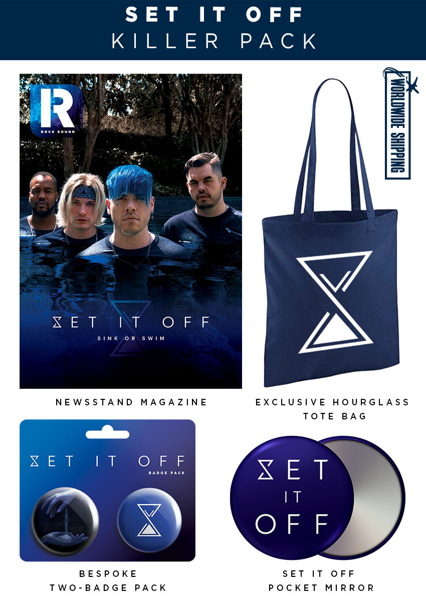 Rock Sound Issue 252.1 - Set It Off Killer Pack - Rock Sound Shop