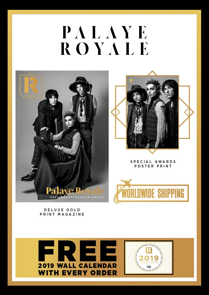 Rock Sound Awards 247.1 - Palaye Royale - Rock Sound Shop