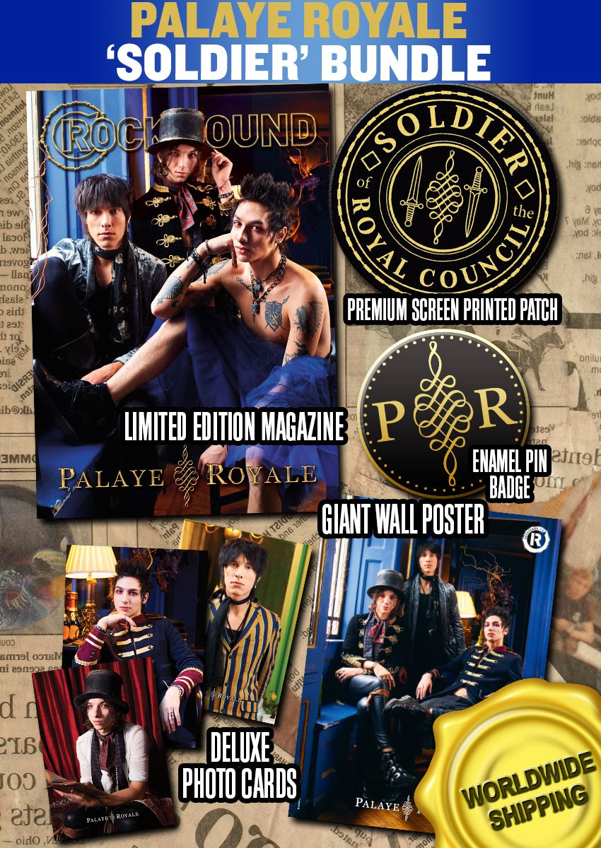 Rock Sound Issue 235.3 - Palaye Royale Soldier Bundle