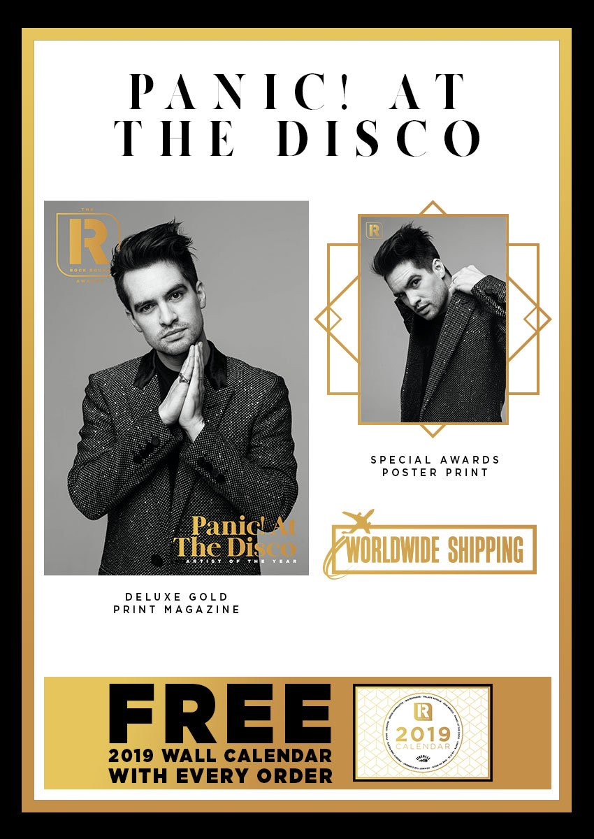 Rock Sound Awards 247.8 - Panic! At The Disco - Rock Sound Shop