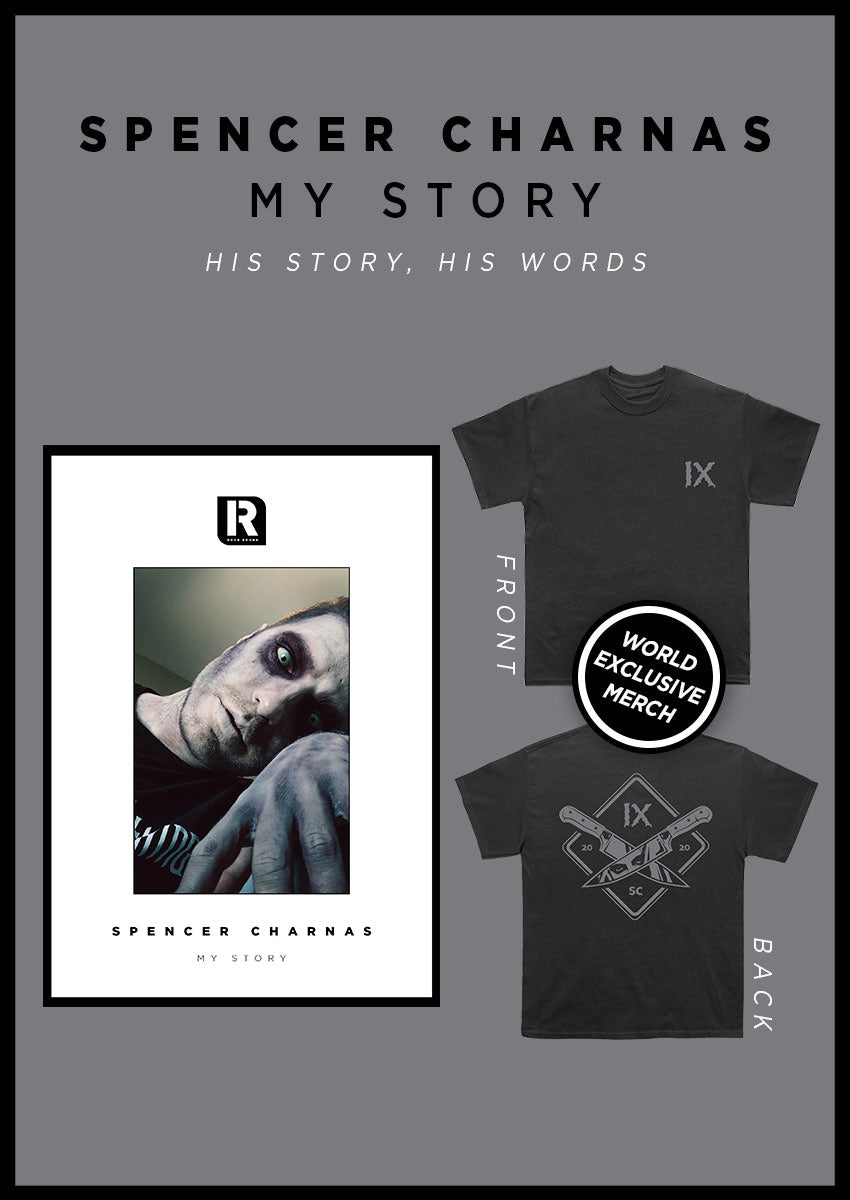 Spencer Charnas: My Story Magazine + T-Shirt Pack - Rock Sound Shop