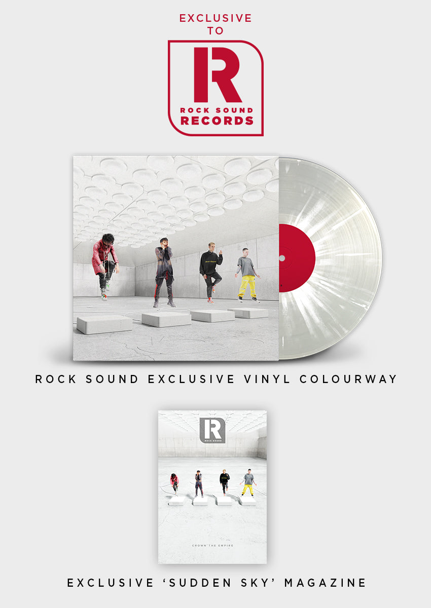 Crown The Empire - 'Sudden Sky' Vinyl LP + special magazine