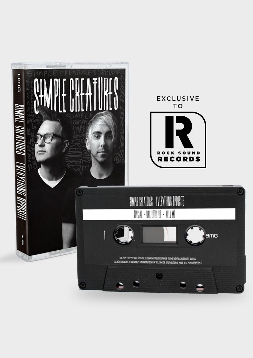 Simple Creatures - 'Everything Opposite' Cassette