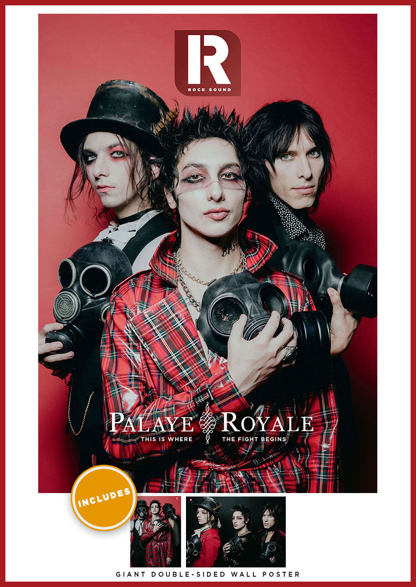 Rock Sound Issue 259 Palaye Royale Magazine only - Rock Sound Shop
