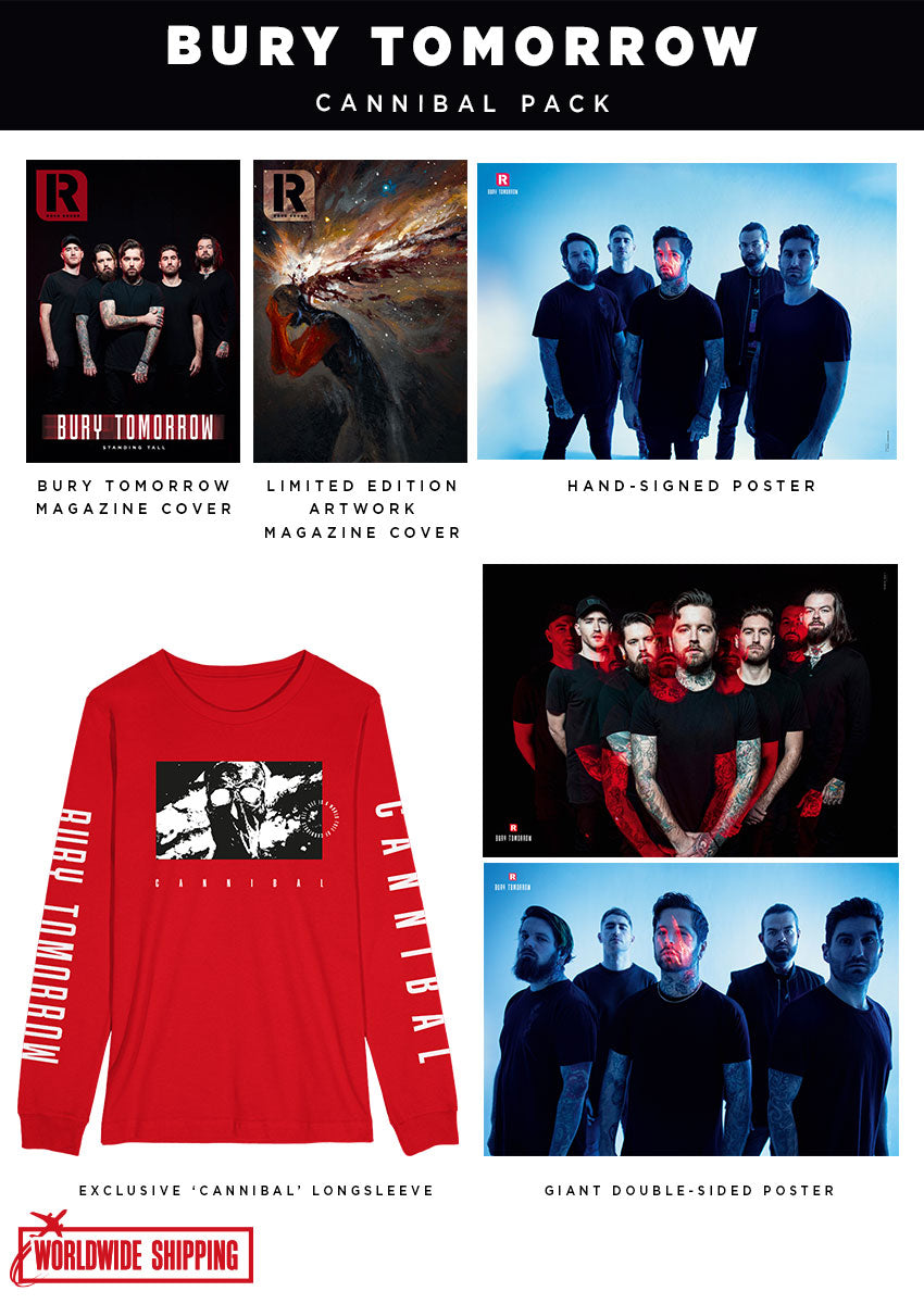 Rock Sound Issue 267.2 - Bury Tomorrow Cannibal Pack - Rock Sound Shop