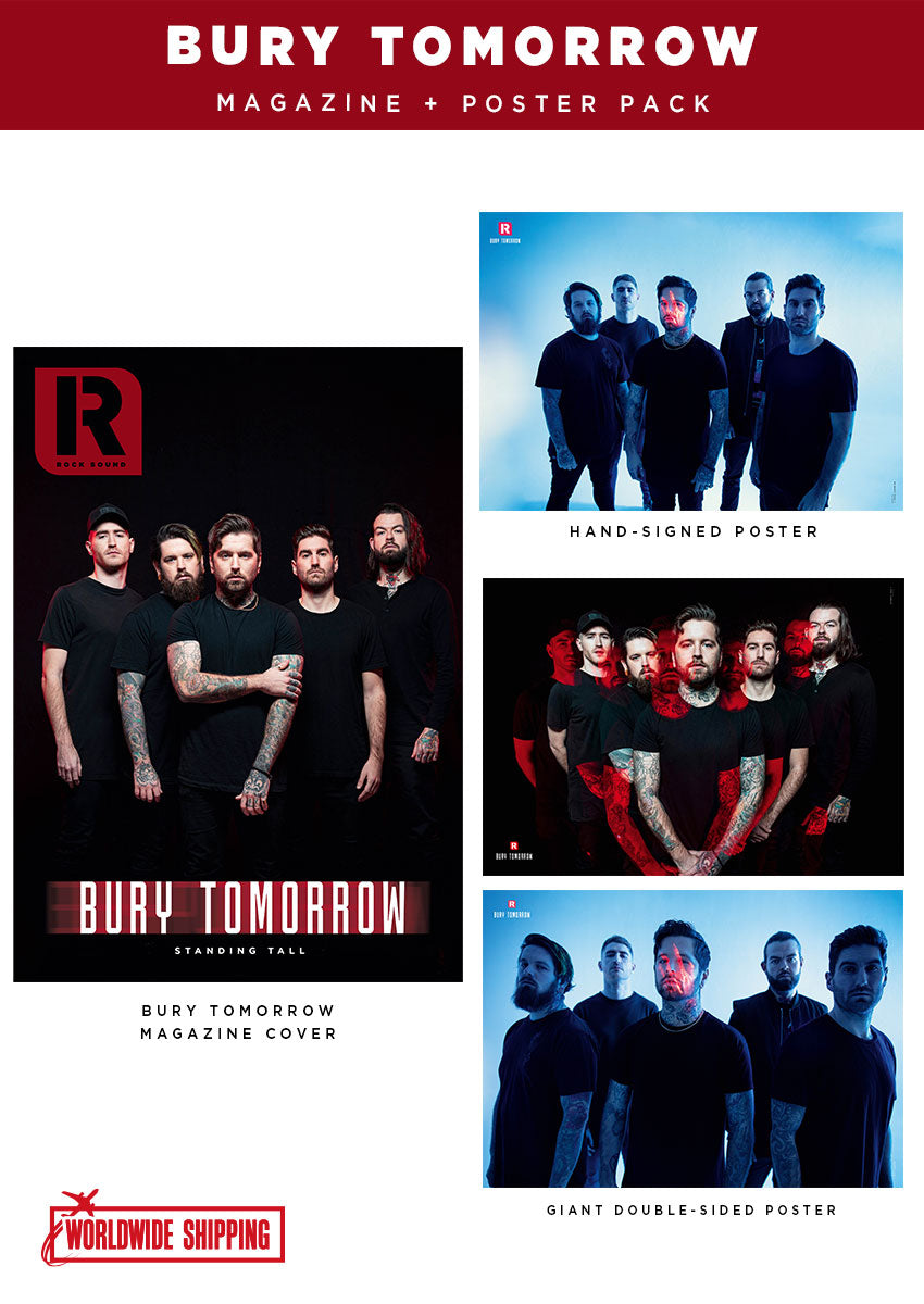 Rock Sound Issue 267.1 - Bury Tomorrow Magazine + Poster Pack - Rock Sound Shop