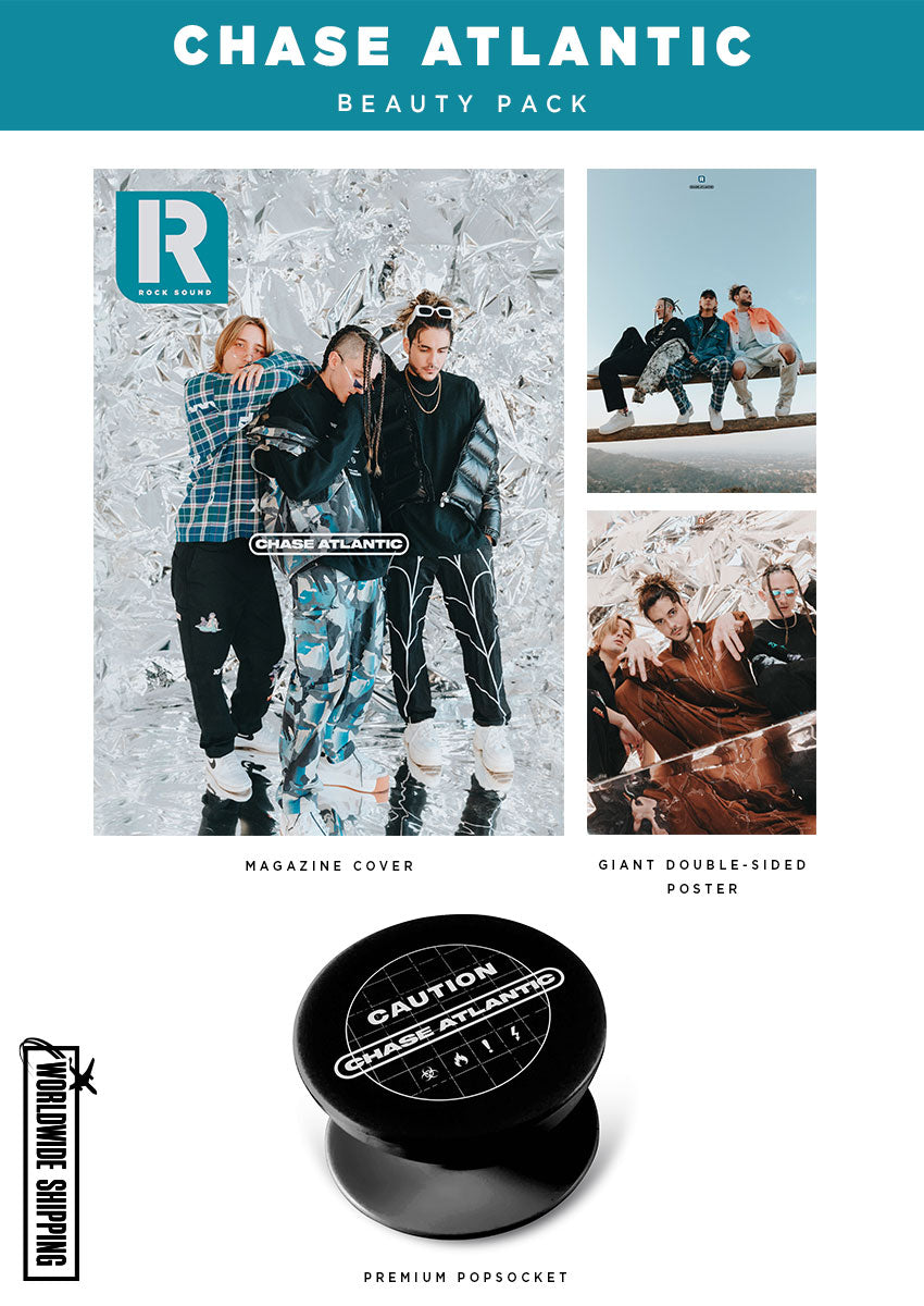 Chase Atlantic Magazine, PopSocket & Poster Pack - Rock Sound 275.1