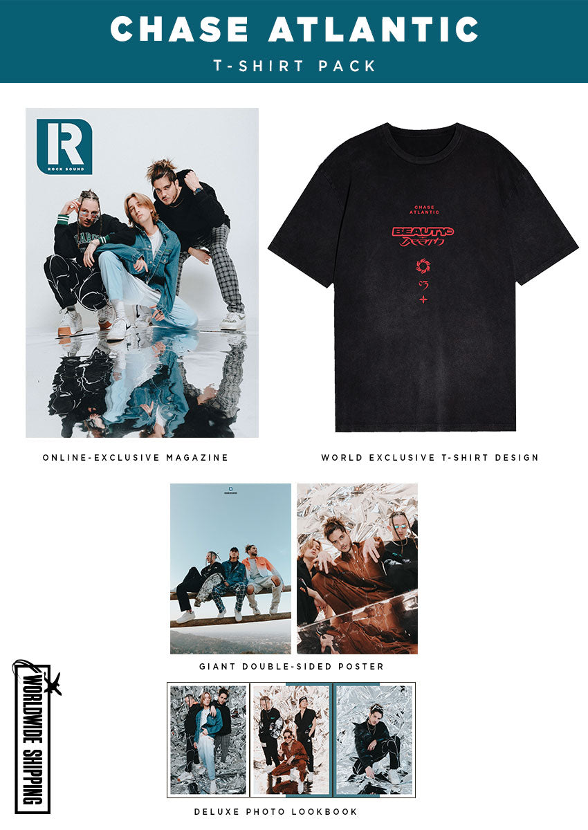 Chase Atlantic T-Shirt, Magazine & Poster Merch Pack - Rock Sound 275.2