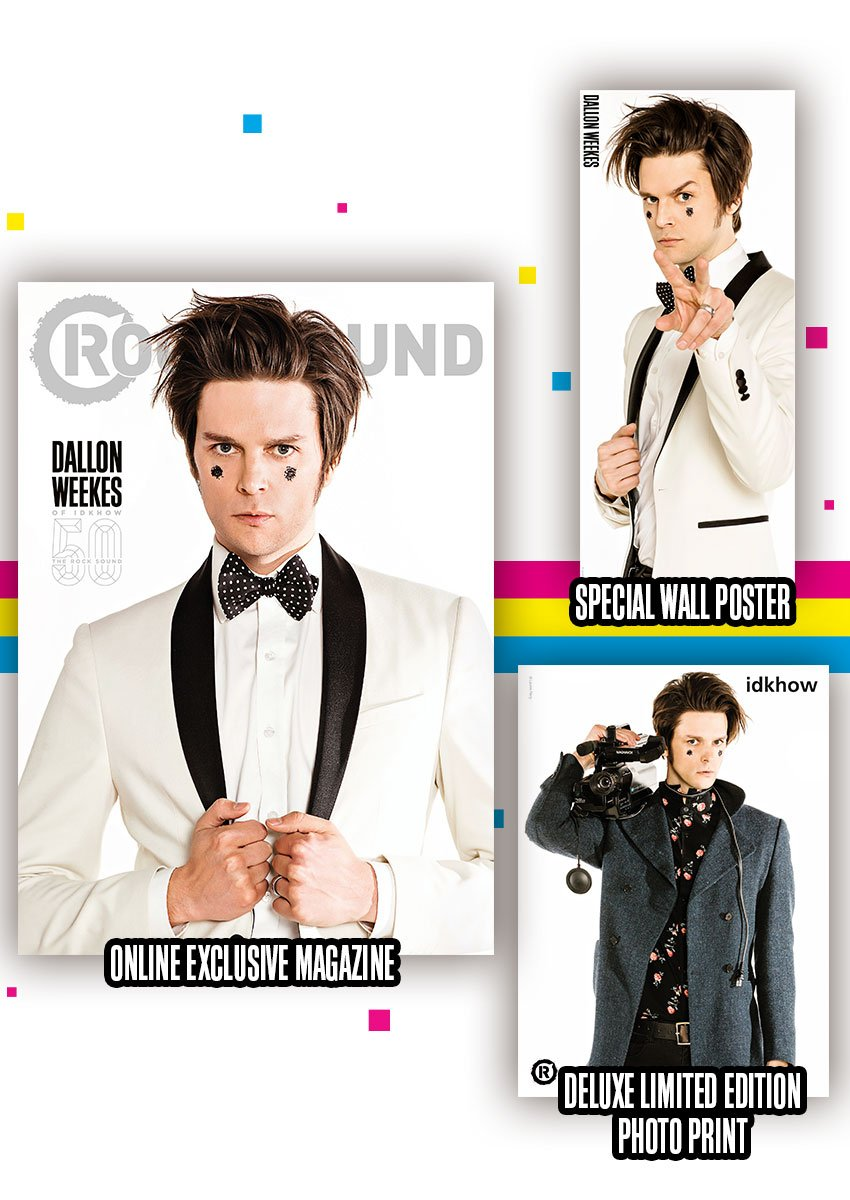 Rock Sound Issue 241.1 - Dallon Magazine + Poster Print - Rock Sound Shop