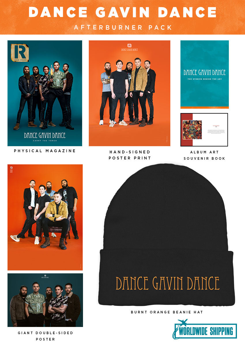Rock Sound Issue 263.2 - Dance Gavin Dance Afterburner Pack - Rock Sound Shop