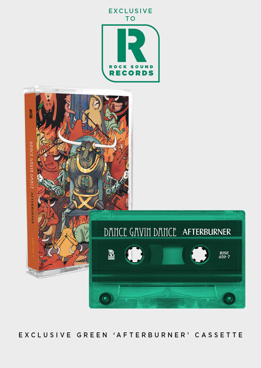 Dance Gavin Dance - 'Afterburner' Exclusive Cassette - Rock Sound Shop