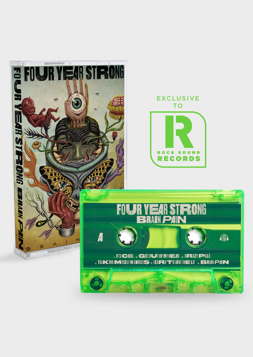 Four Year Strong - 'Brain Pain' Cassette LP - Rock Sound Shop
