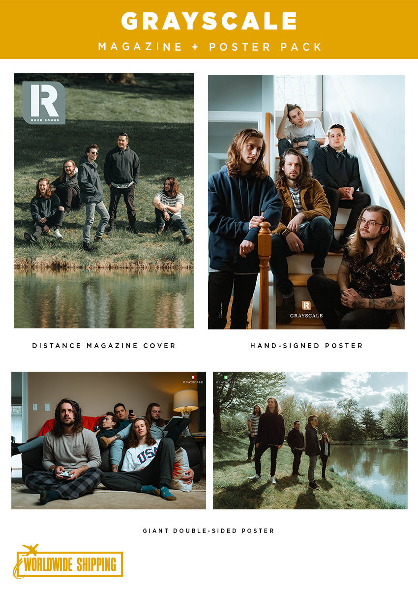 Rock Sound Issue 266.1 – Grayscale Magazine + Poster Pack - Rock Sound Shop