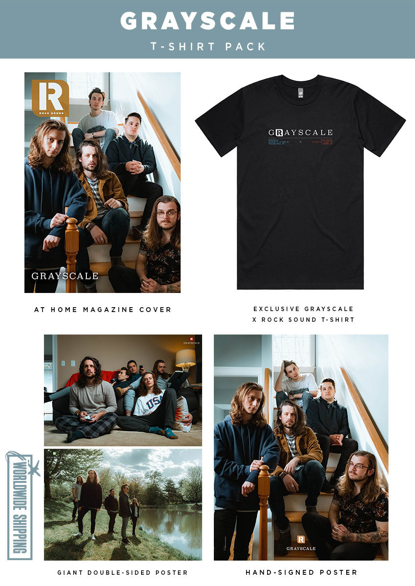 Rock Sound Issue 266.2 – Grayscale T-Shirt Pack - Rock Sound Shop