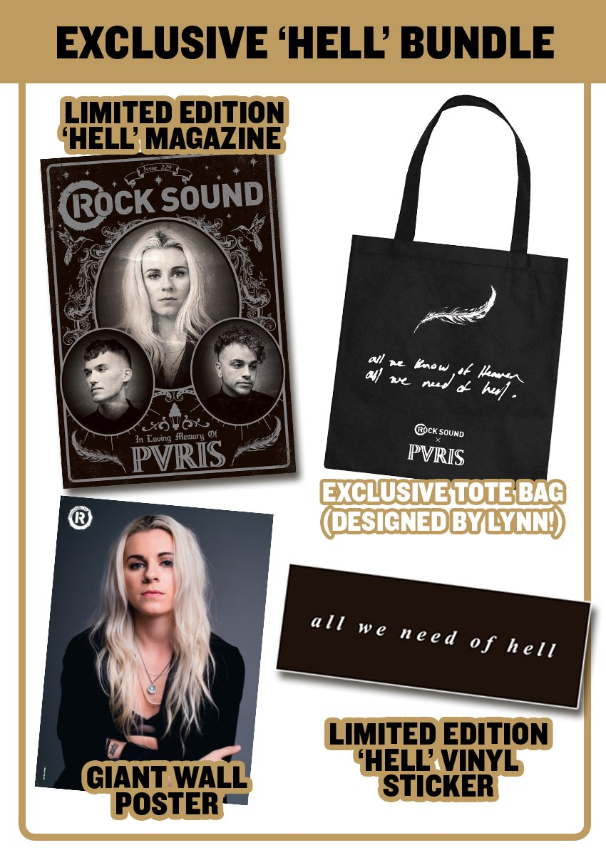 Rock Sound Issue 229.2 - PVRIS 'Hell' Bundle - Rock Sound Shop