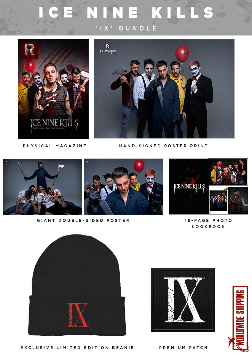 Rock Sound Issue 261.2 - Ice Nine Kills 'IX' Bundle