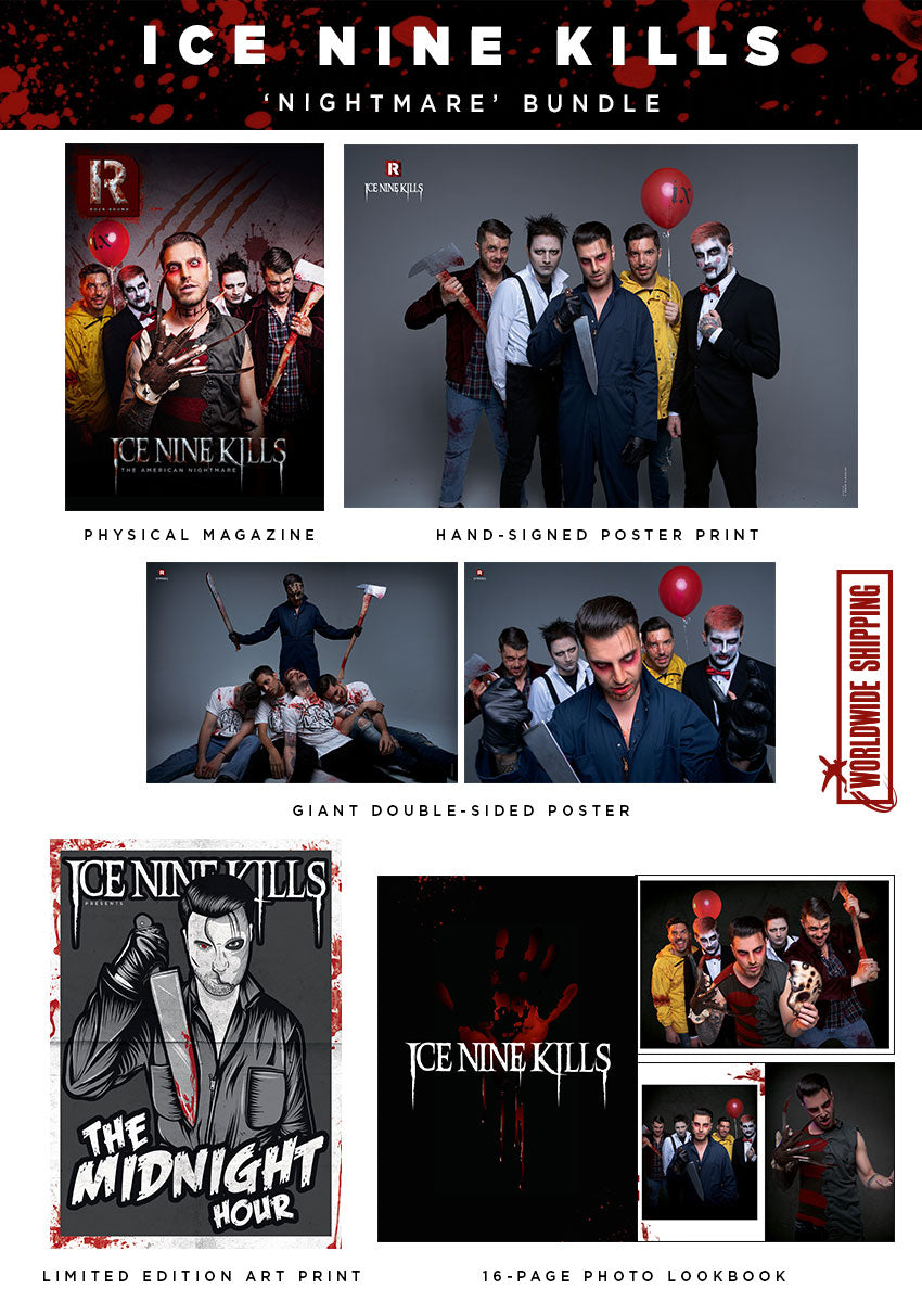 Rock Sound Issue 261.1 - Ice Nine Kills 'Nightmare' Bundle - Rock Sound Shop