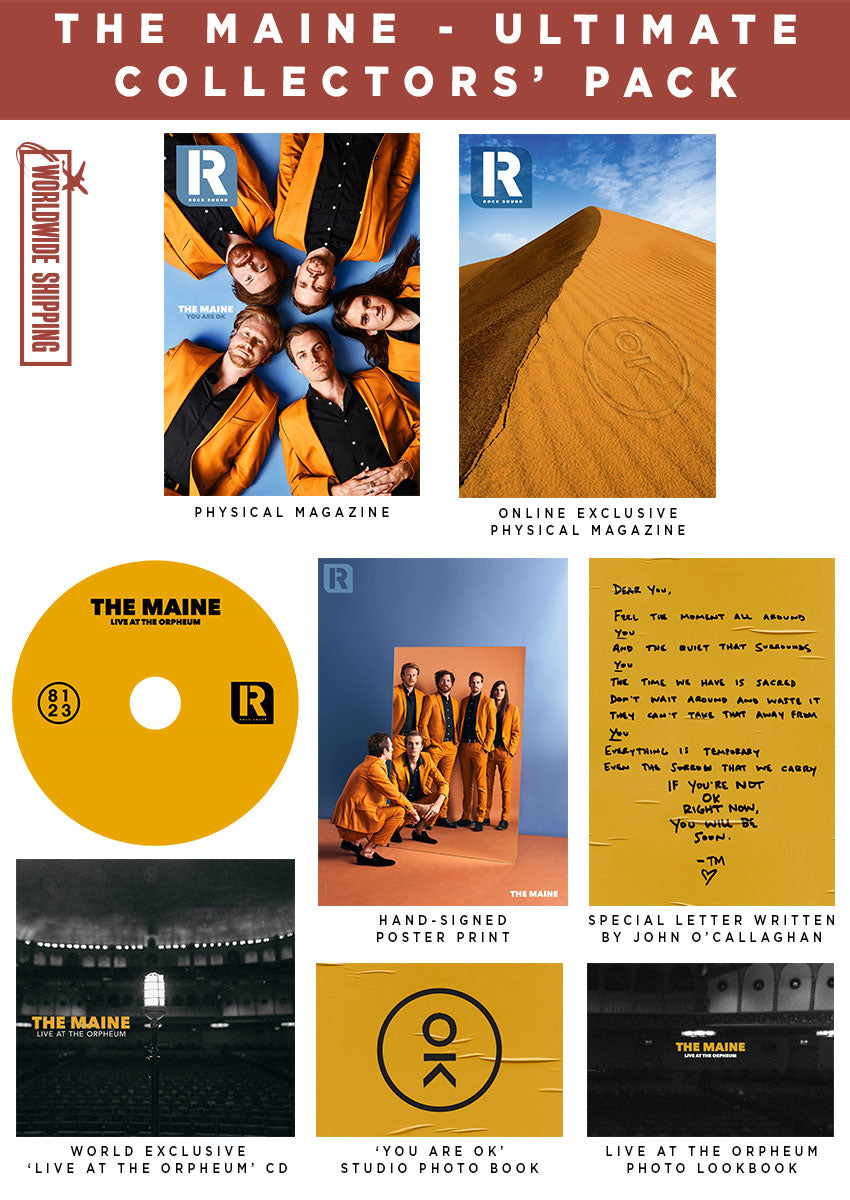 Rock Sound Issue 251.3 - The Maine Ultimate Collectors' Pack - Rock Sound Shop