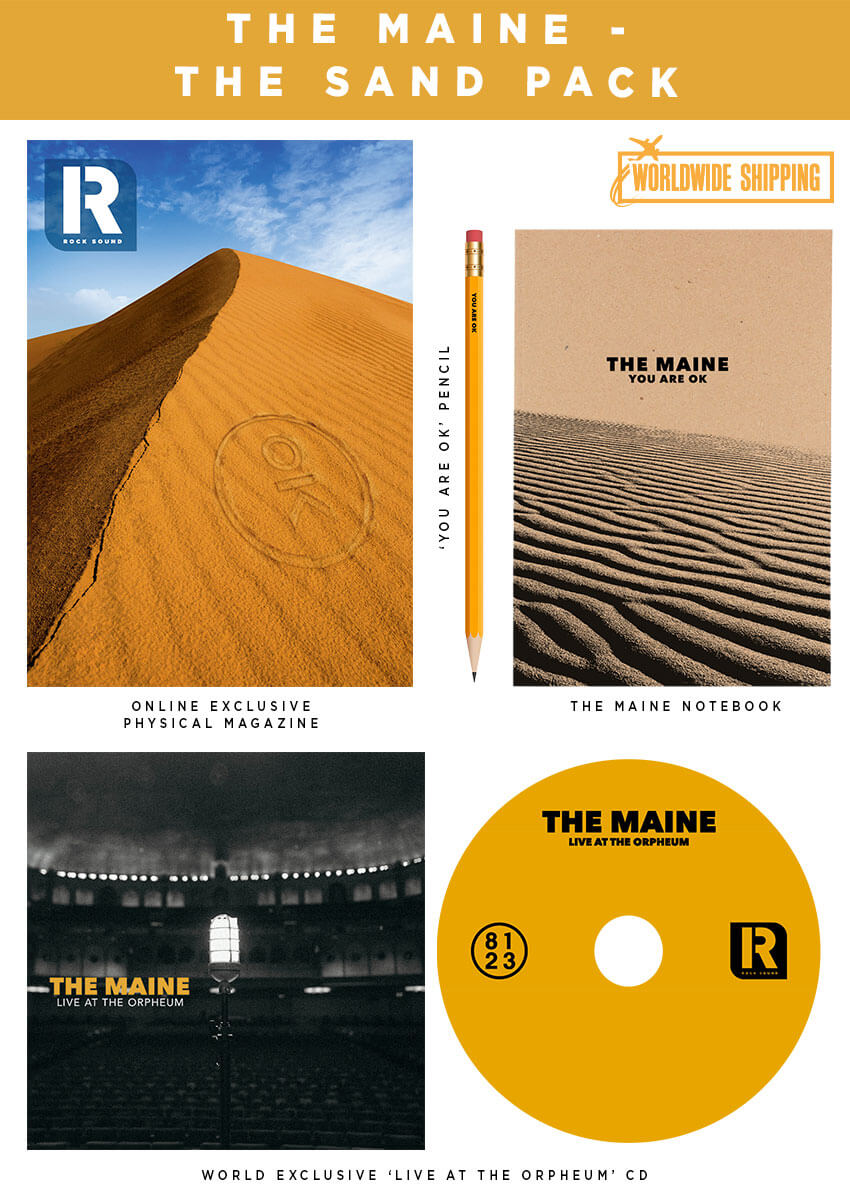 Rock Sound Issue 251.2 - The Maine The Sand Pack