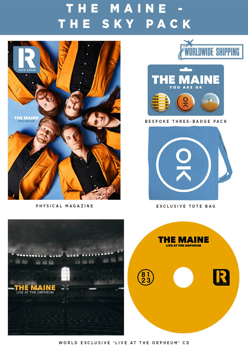 Rock Sound Issue 251.1 - The Maine The Sky Pack - Rock Sound Shop