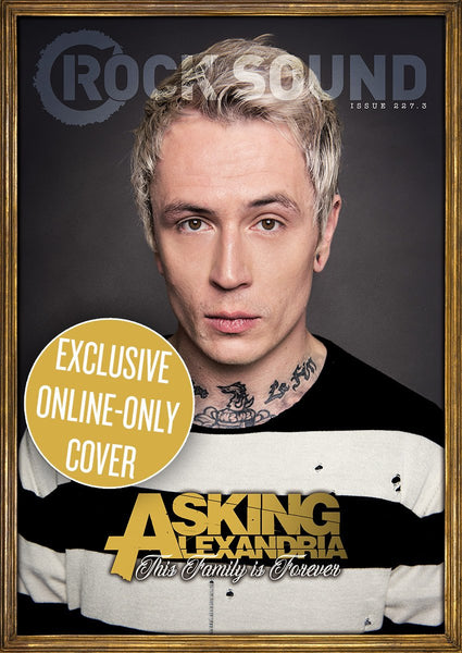 Rock Sound Issue 227.3 - Asking Alexandria (James Cover)