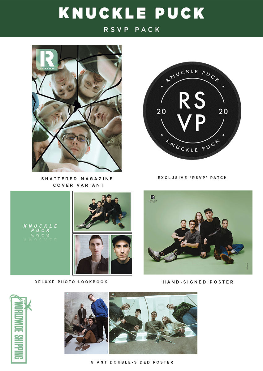 Rock Sound Issue 265.1 - Knuckle Puck RSVP Pack - Rock Sound Shop