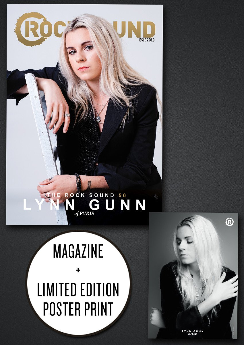 Rock Sound Issue 228.3 - Lynn Gunn Bundle - Rock Sound Shop
