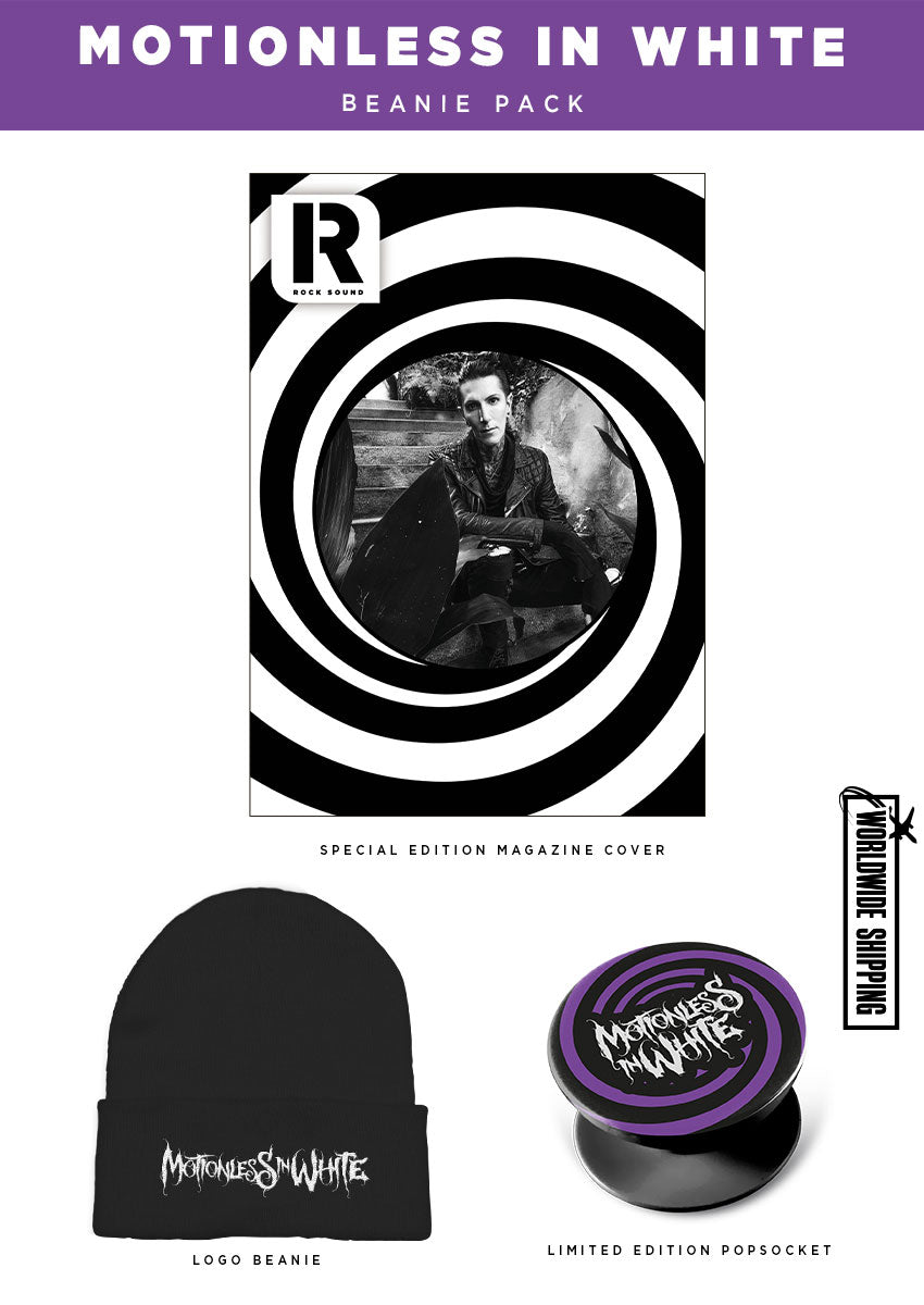 Rock Sound Issue 271.2 - Motionless In White Beanie Pack