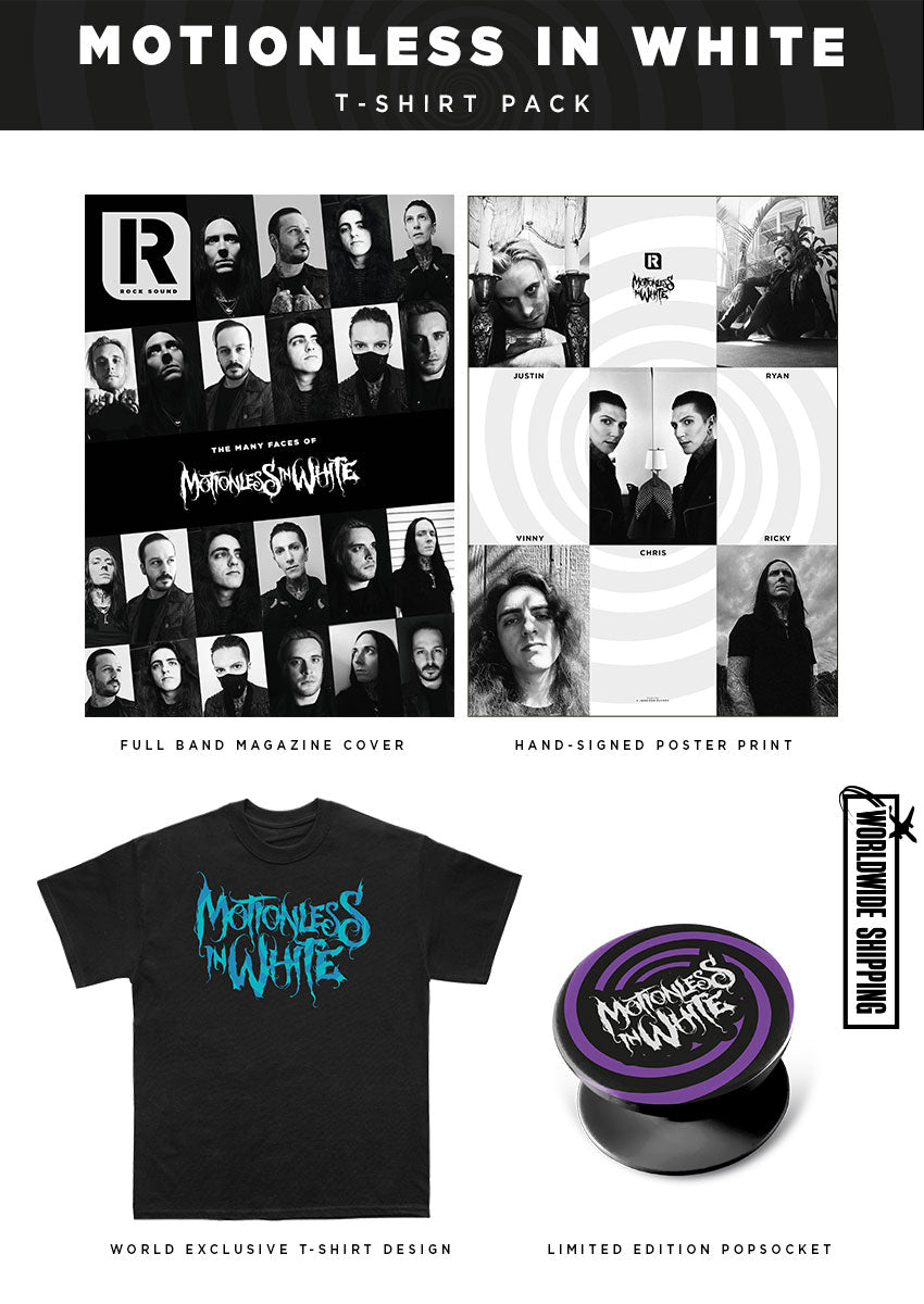 Rock Sound Issue 271.3 - Motionless In White T-Shirt Pack