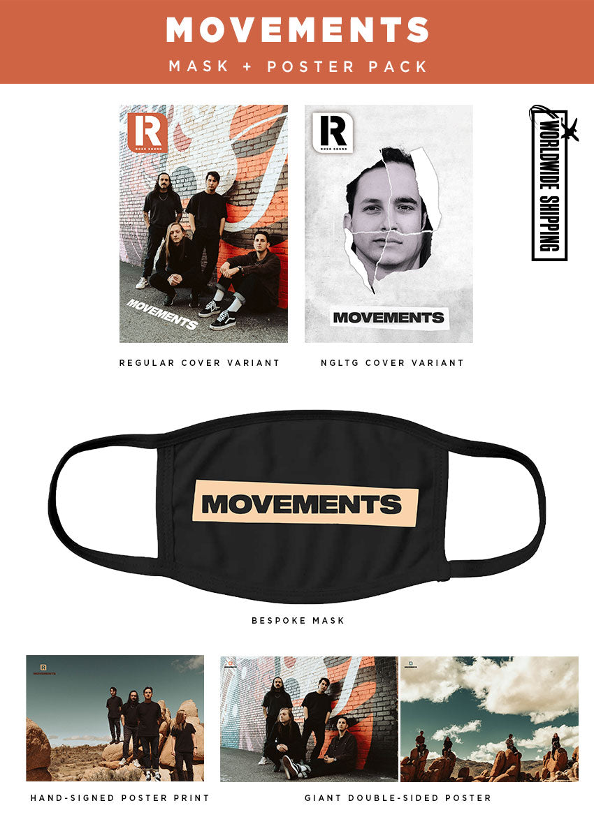 Rock Sound Issue 270.2 - Movements Mask & Poster Pack - Rock Sound Shop