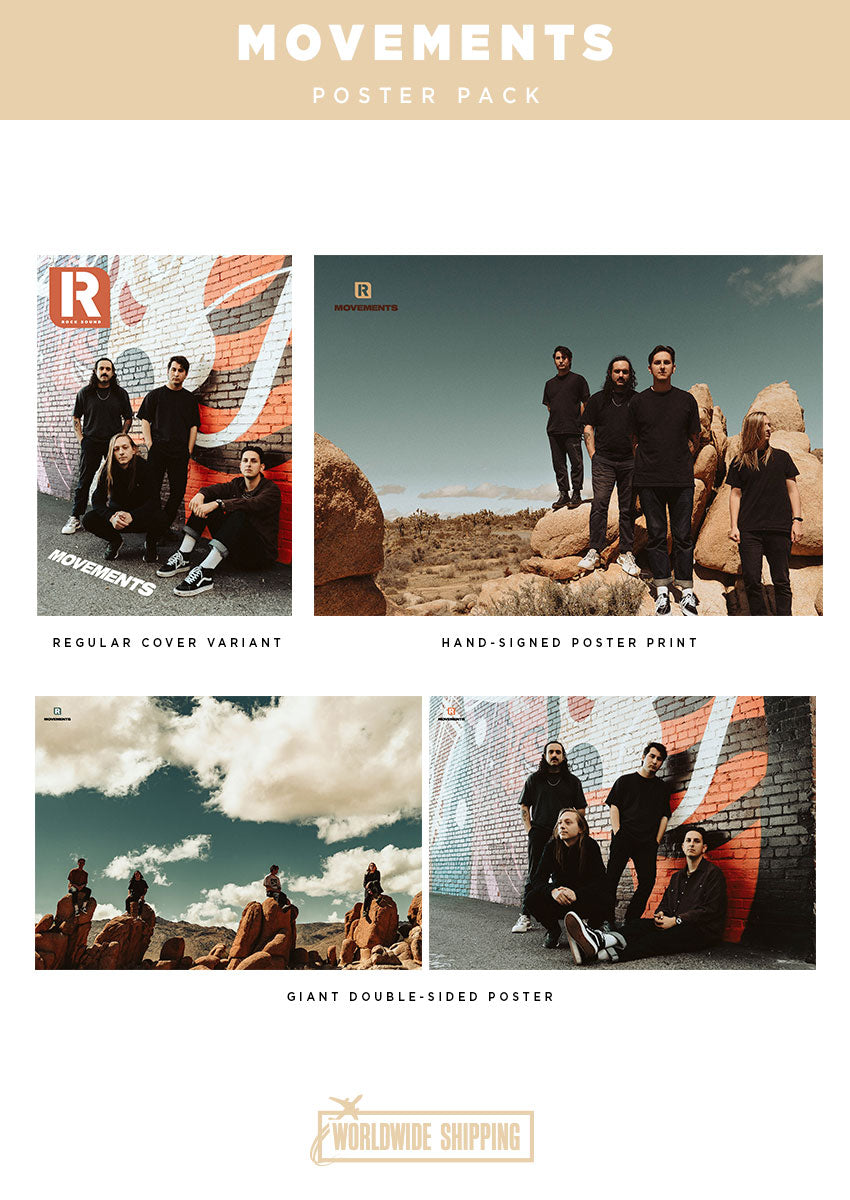 Rock Sound Issue 270.1 - Movements Poster Pack - Rock Sound Shop