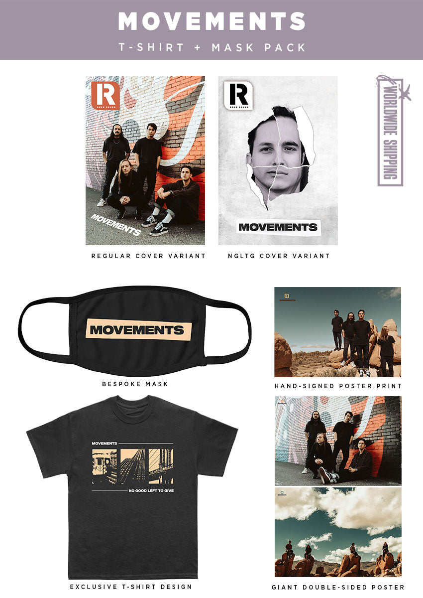 Rock Sound Issue 270.3 - Movements T-Shirt & Mask Pack - Rock Sound Shop