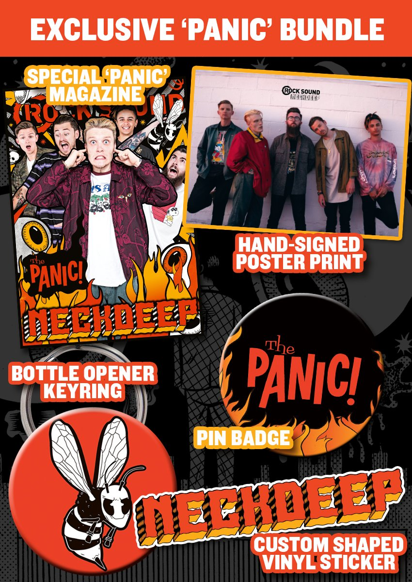 Rock Sound Issue 230.2 - Neck Deep 'Panic' Bundle - Rock Sound Shop