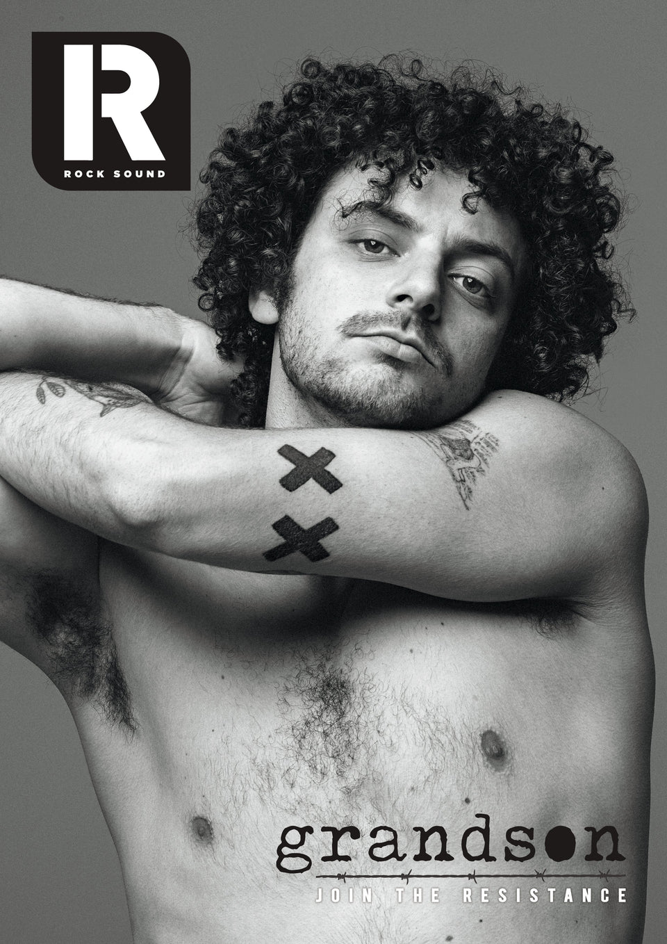 Meet rock's new leader of the resistance - Grandson. This is the first, world exclusive story of one of the most curious and fascinating characters in modern music. Accompanied by a stunning, brand new and exclusive photo shoot, this is the definitive, detailed and intimate portrait of Jordan Benjamin.