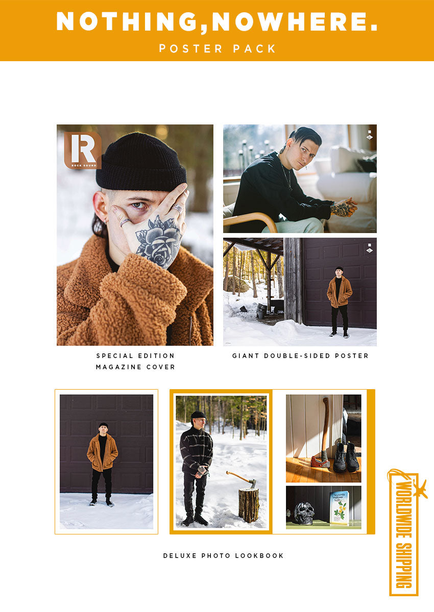 Rock Sound Issue 277.1 – nothing,nowhere. Poster Pack