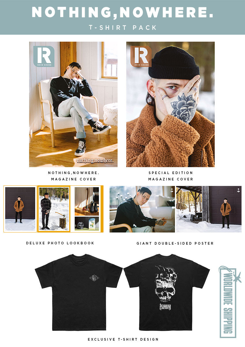 Rock Sound Issue 277.2 - nothing,nowhere. T-Shirt Pack
