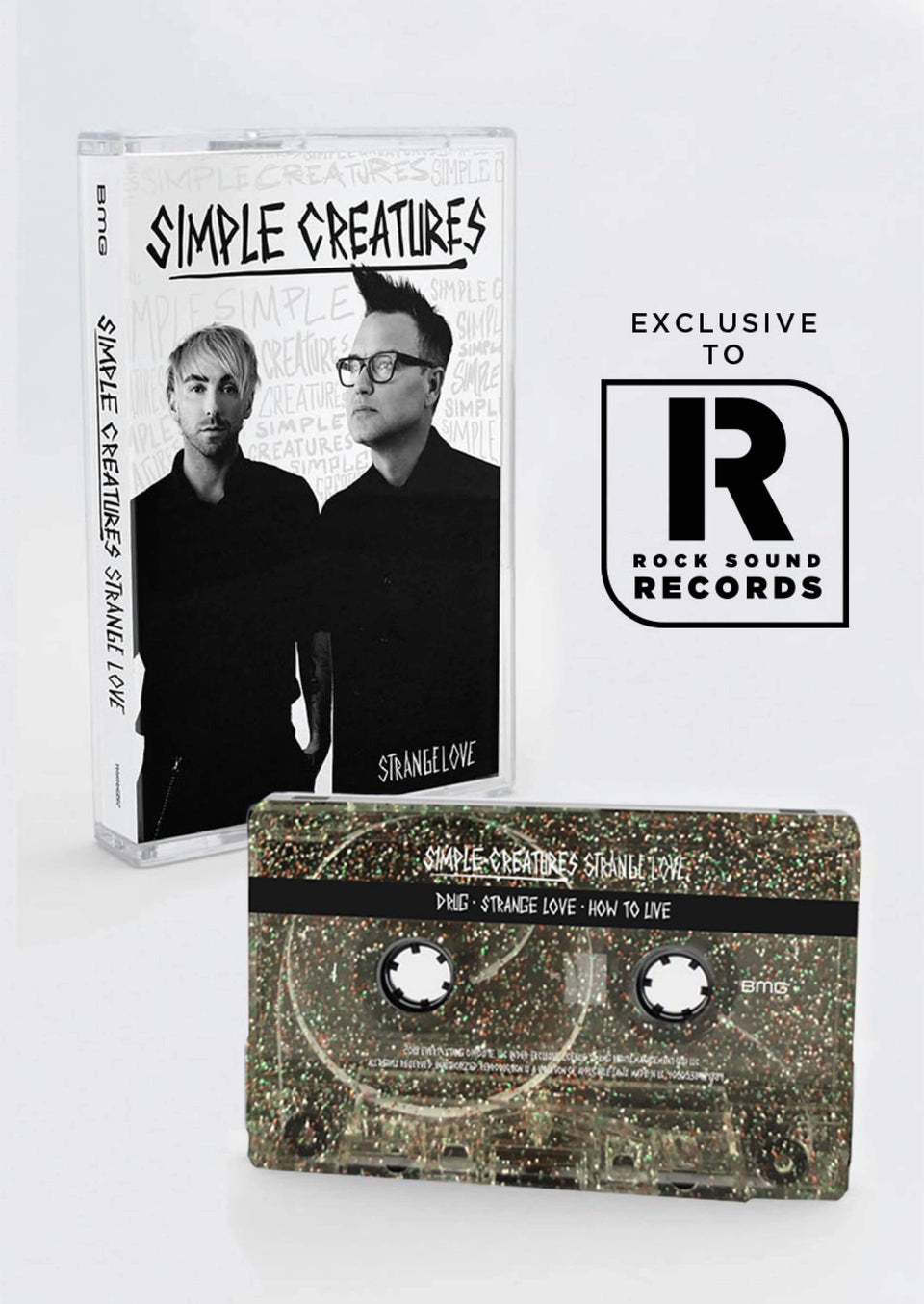 Simple Creatures - 'Strange Love' Cassette EP Variant
