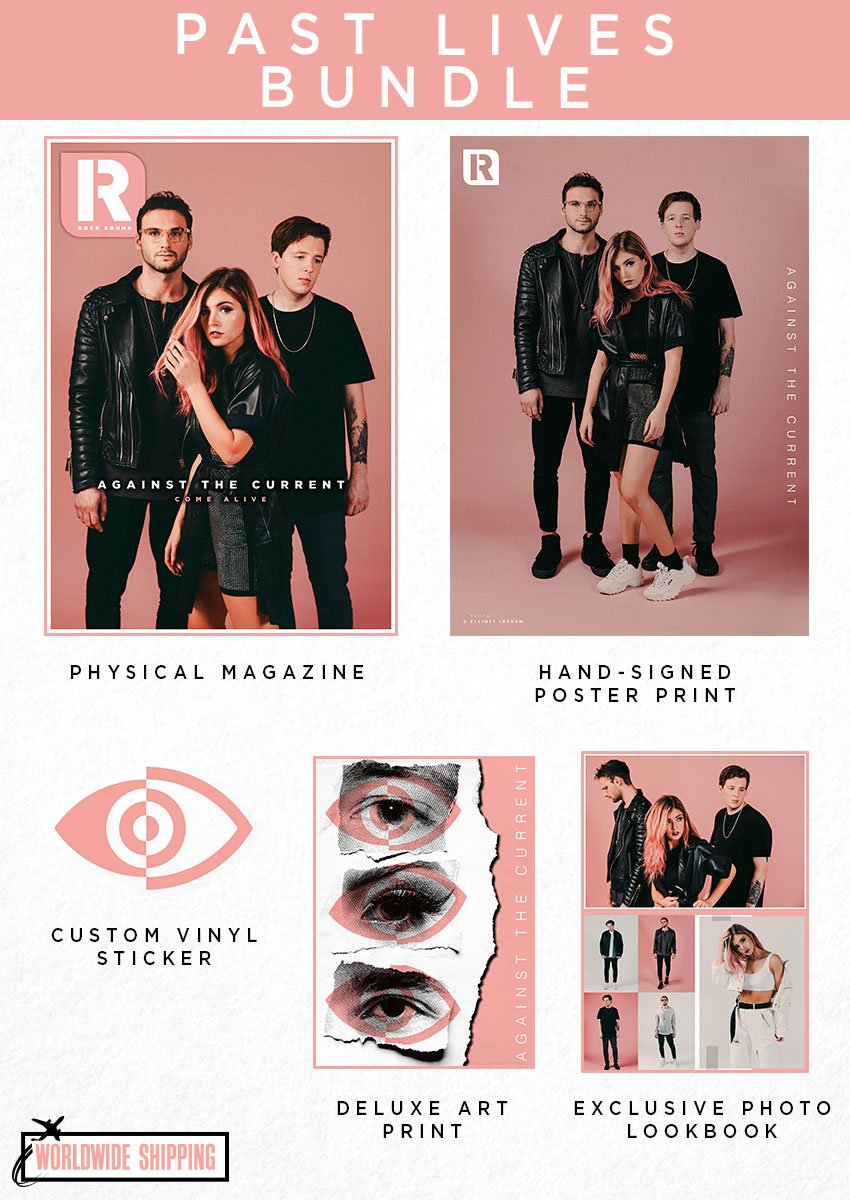 Rock Sound Issue 245.2 - Against The Current Past Lives Bundle - Rock Sound Shop