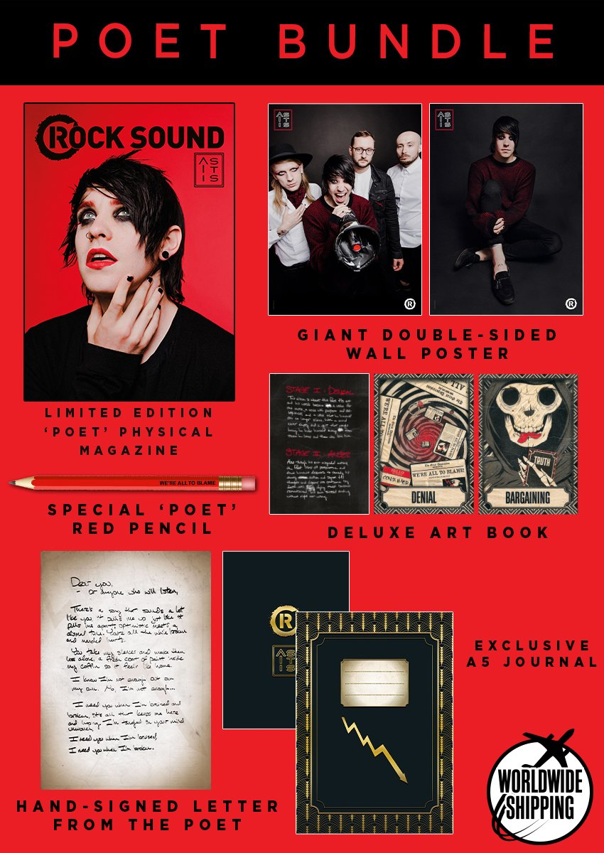 Rock Sound Issue 242.2 - As It Is Poet Bundle - Rock Sound Shop