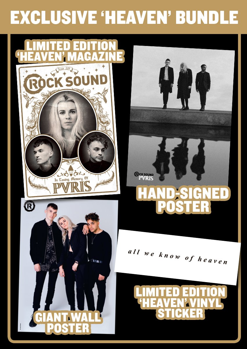 Rock Sound Issue 229.3 - PVRIS 'Heaven' Bundle - Rock Sound Shop