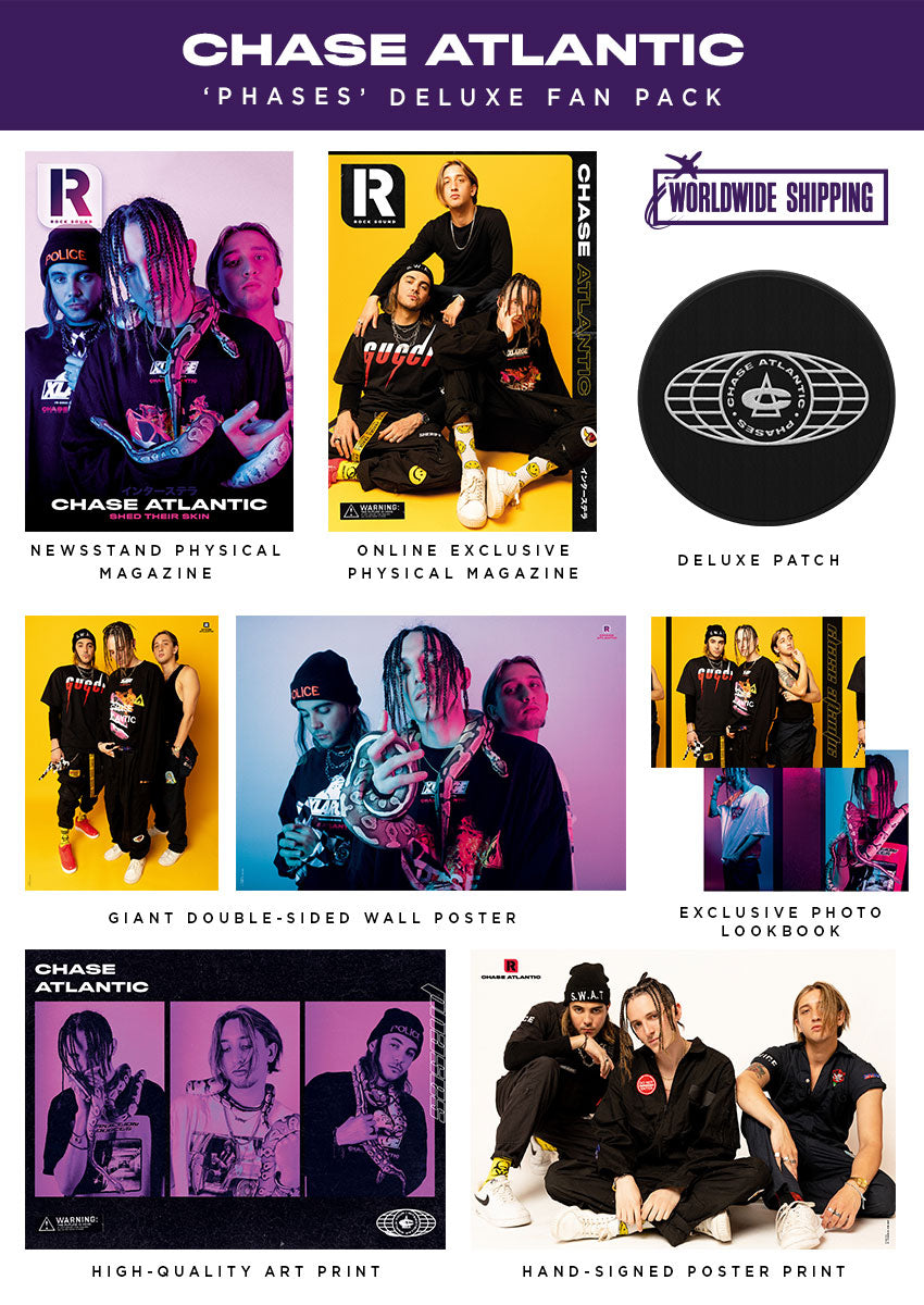 Rock Sound Issue 255.2 - Chase Atlantic 'Phases' Deluxe Fan Pack - Rock Sound Shop