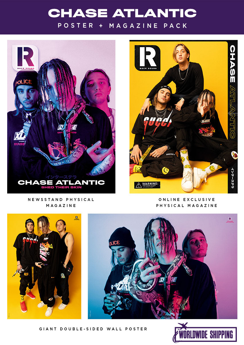 Rock Sound Issue 255.1 - Chase Atlantic Poster + Magazine Pack - Rock Sound Shop