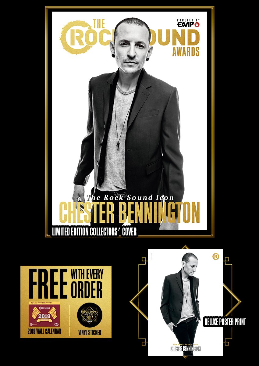 Rock Sound Awards 234.10 - Chester Bennington - Rock Sound Shop