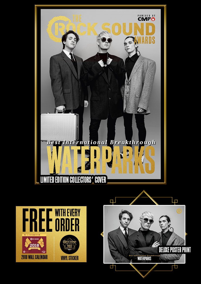 Rock Sound Awards 234.1 - Waterparks - Rock Sound Shop