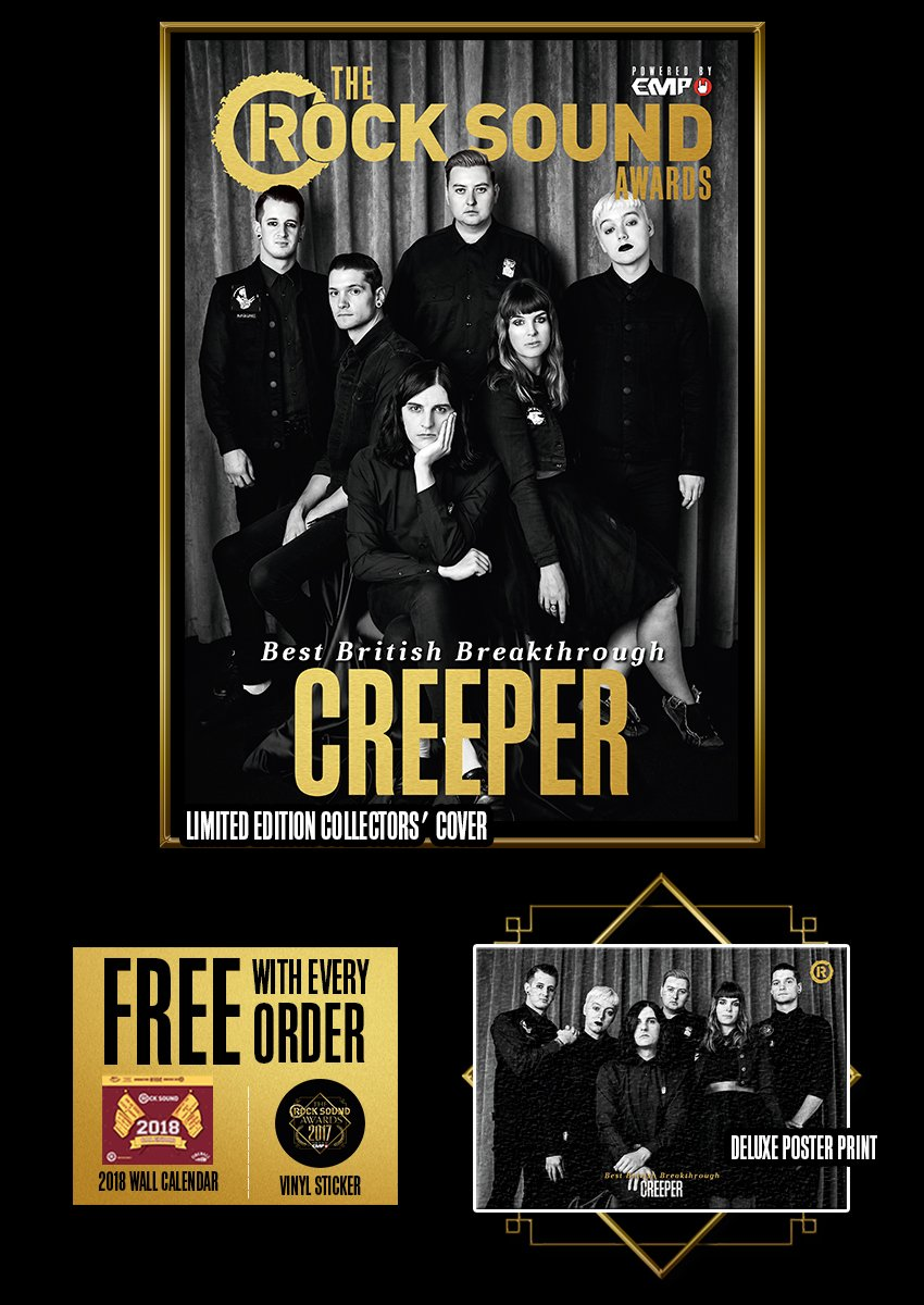 Rock Sound Awards 234.2 - Creeper - Rock Sound Shop