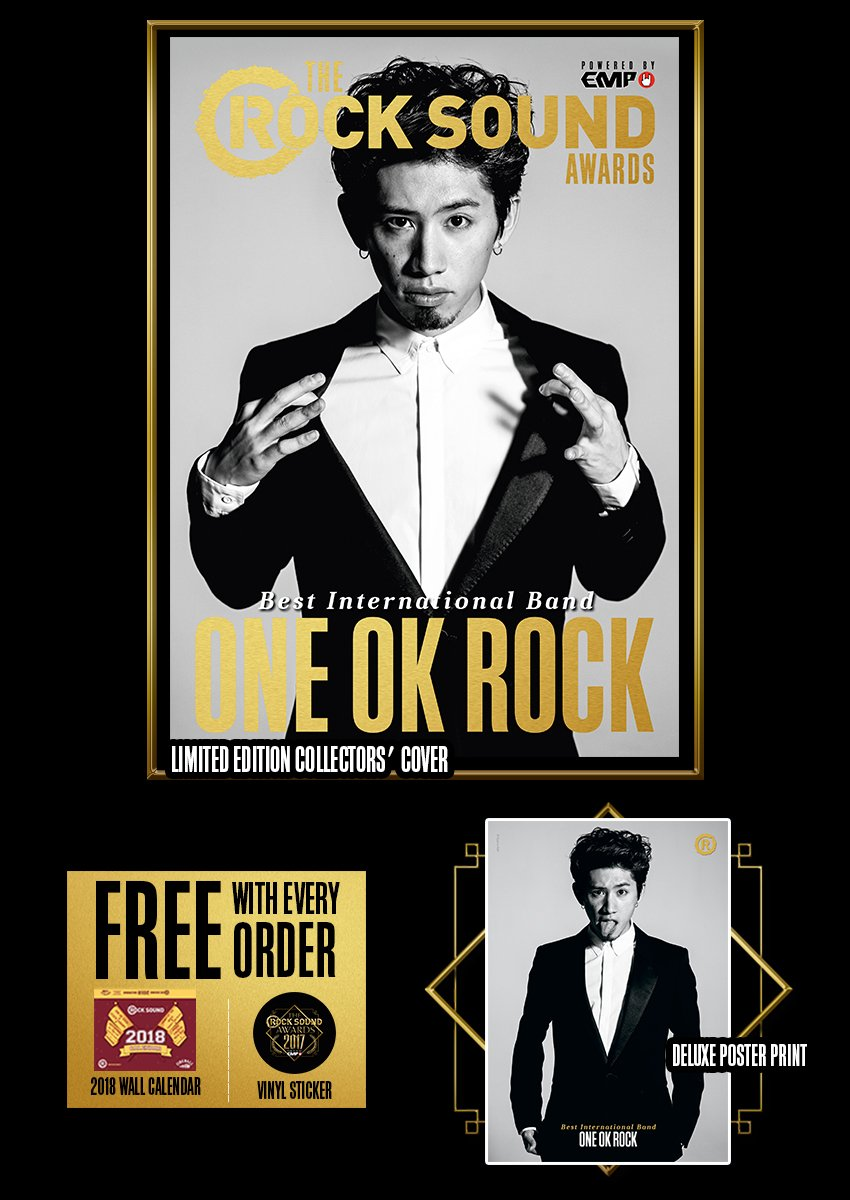 Rock Sound Awards 234.3 - One OK Rock - Rock Sound Shop