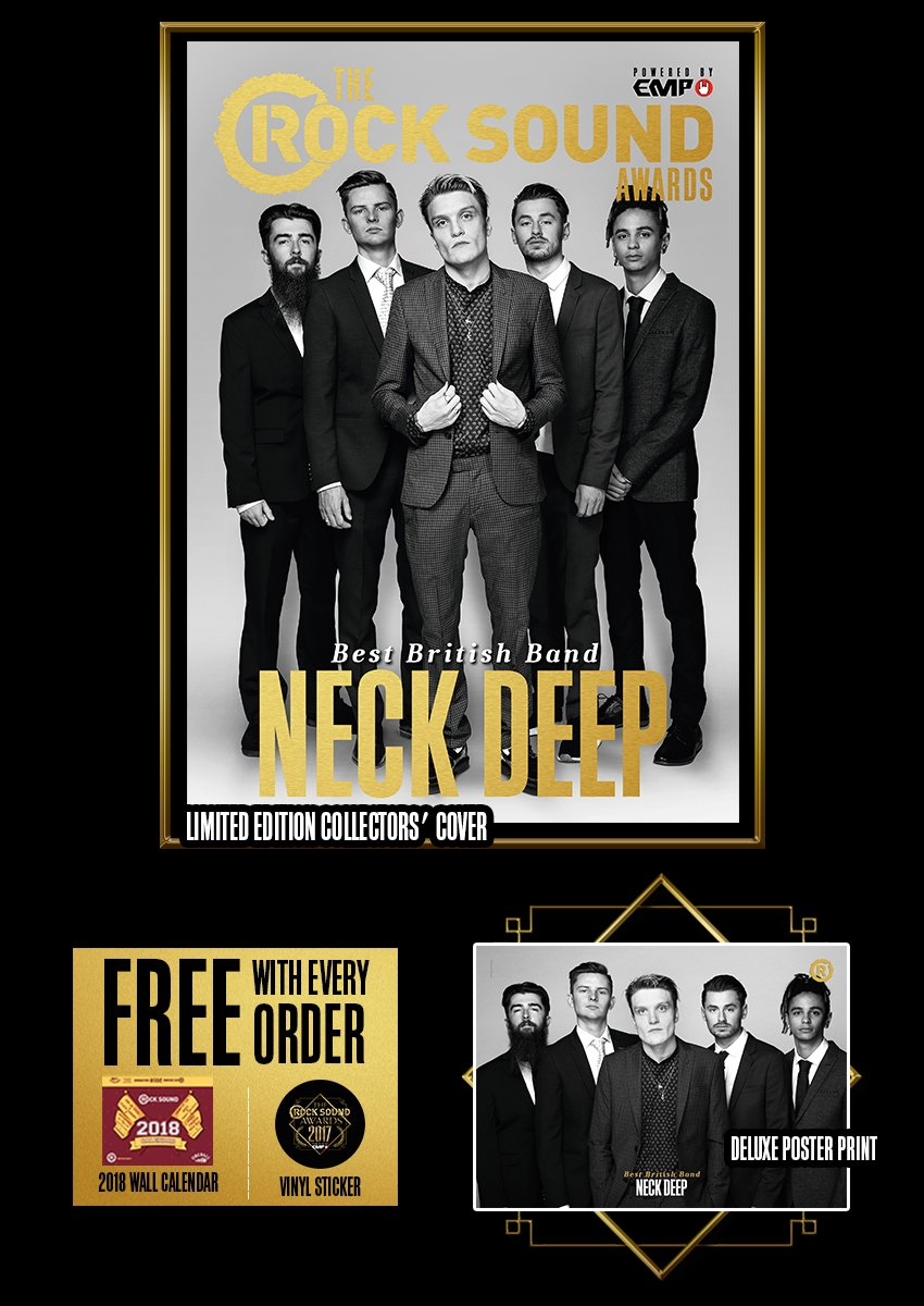 Rock Sound Awards 234.4 - Neck Deep - Rock Sound Shop