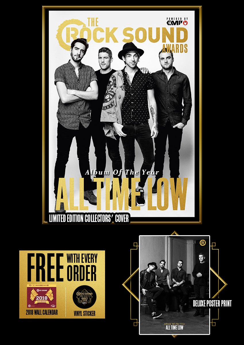 Rock Sound Awards 234.7 - All Time Low - Rock Sound Shop